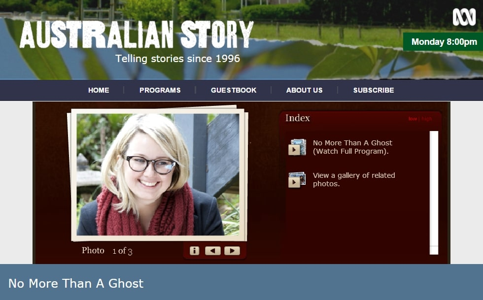 """Hannah Kent Australian Story about """"Burial Rites"""", where she speaks about her research trip to Iceland"""