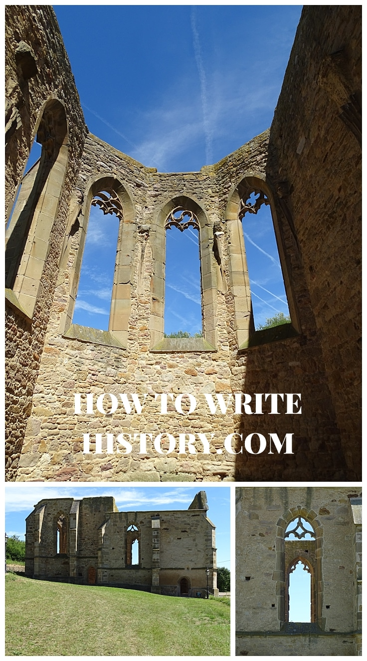 Author research trip, travel to research for your novel, Medieval times in Germany