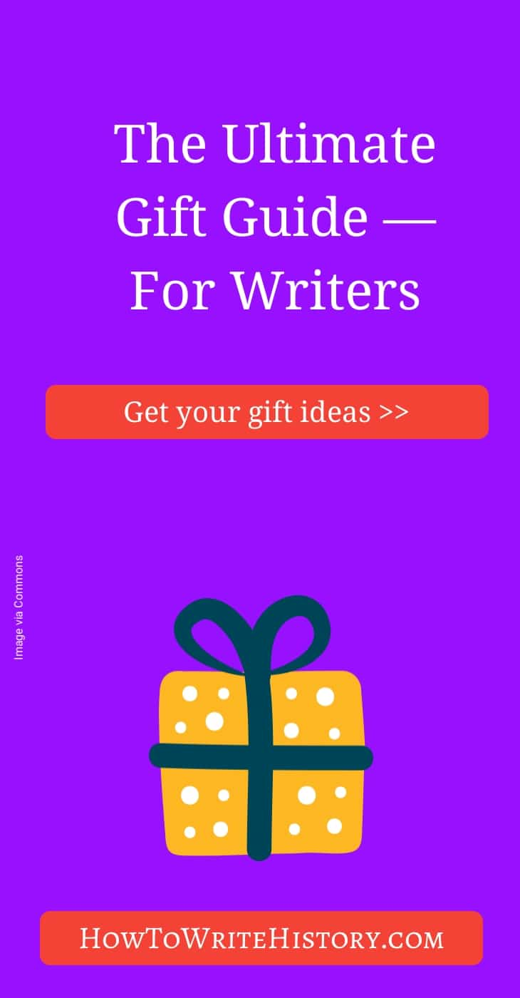 Ultimate Gift Guide for Writers 2017