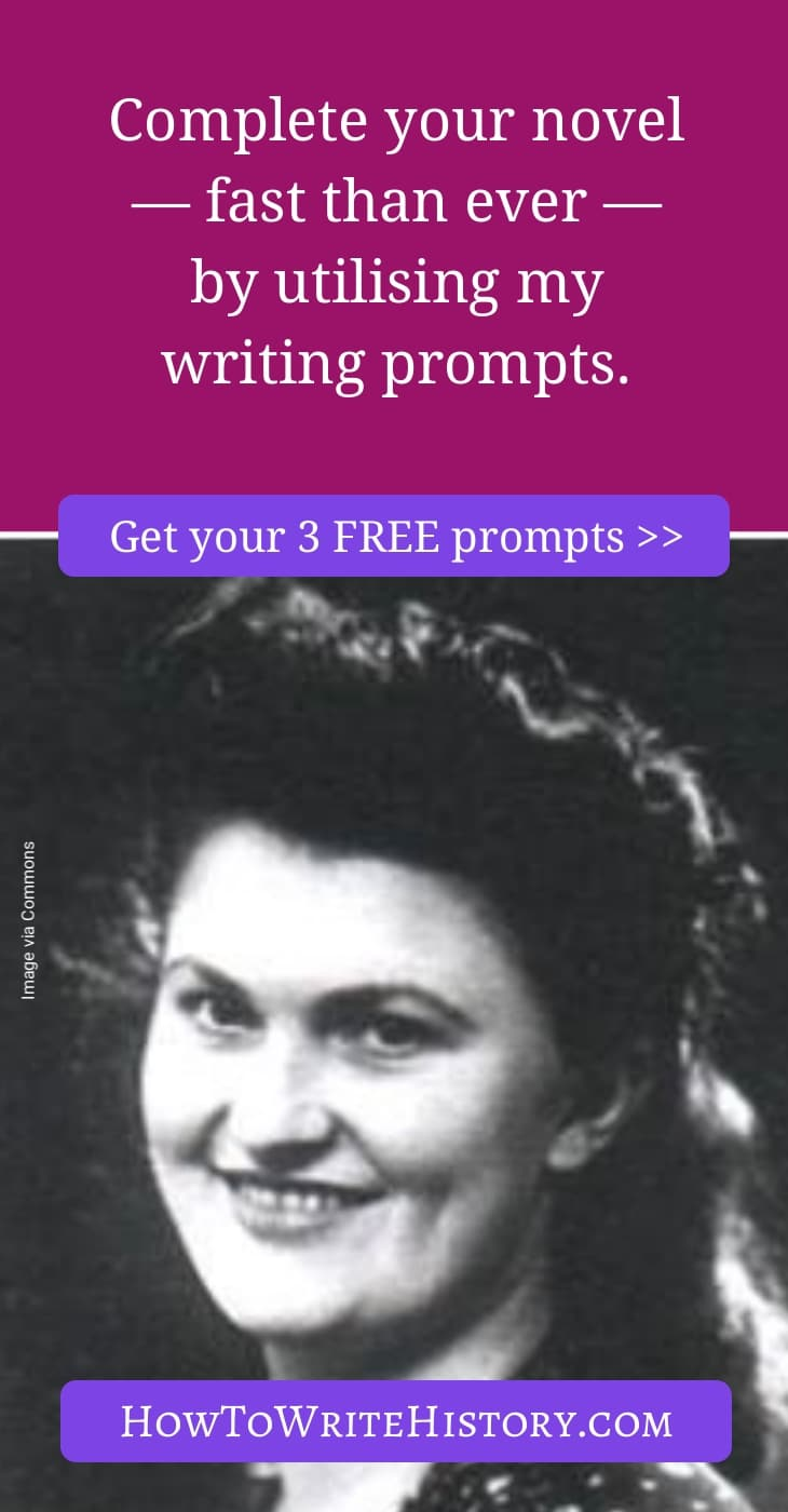 Complete your novel — fast than ever — by utilising my writing prompts.